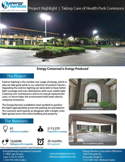 Lee Health Park Commons Project Highlight