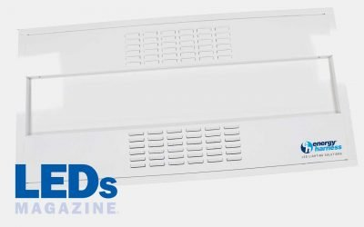 Energy Harness develops ceiling mount UV-C LED system for air disinfection