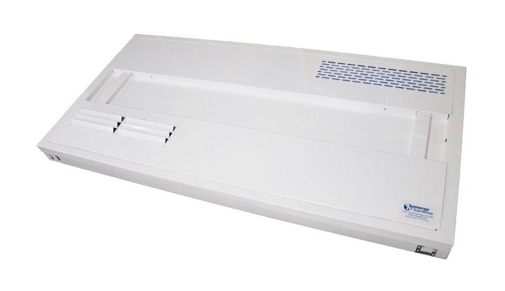 Active Airflow UV-C light fixture