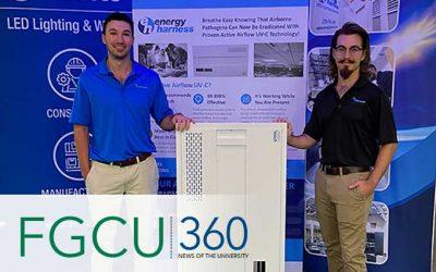 FGCU Bioengineering alums, students help develop device to kill COVID-19