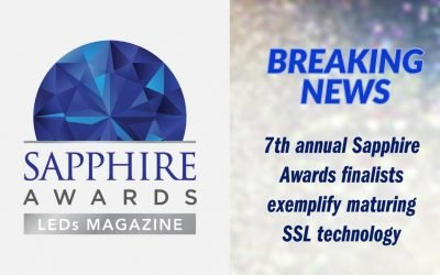 Energy Harness Named 2021 Sapphire Awards Finalist in UV LEDs and Systems Category
